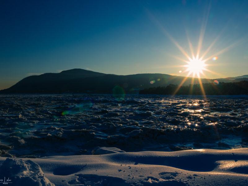 2020-02 François Leduc (Défi) - Crépuscule sur mer de glace