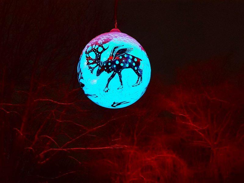 2020-12 - Anne Prescott (Défi) - Orignal lumineux